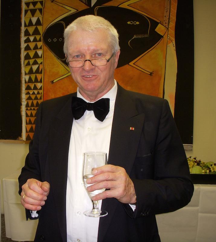 Prof. Dr. Löhle bei seiner Verabschiedung